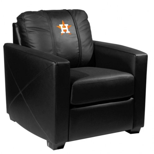 Houston Astros XZipit Silver Club Chair with Secondary Logo