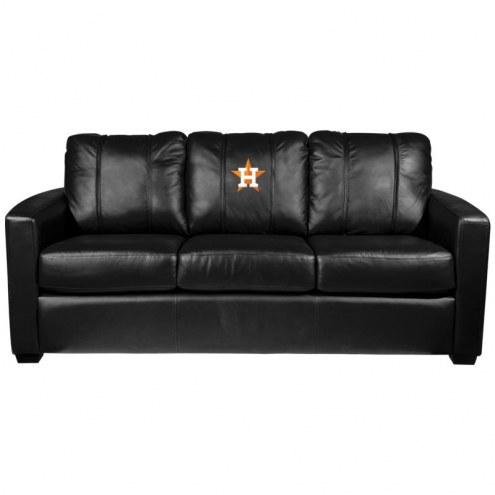Houston Astros XZipit Silver Sofa with Secondary Logo