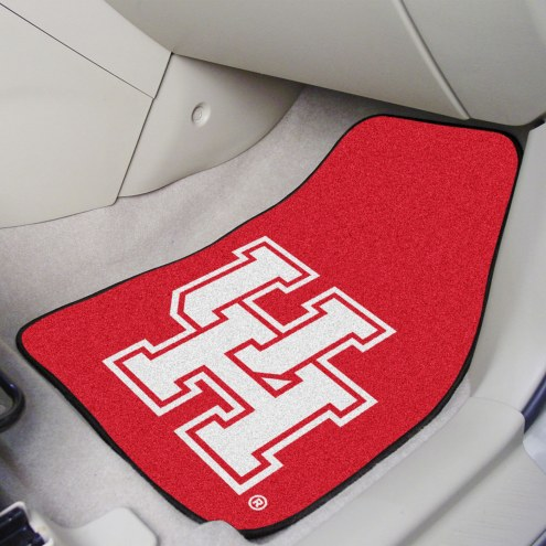 Houston Cougars 2-Piece Carpet Car Mats