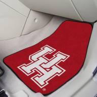 Houston Cougars 2-Piece Carpet Car Mats
