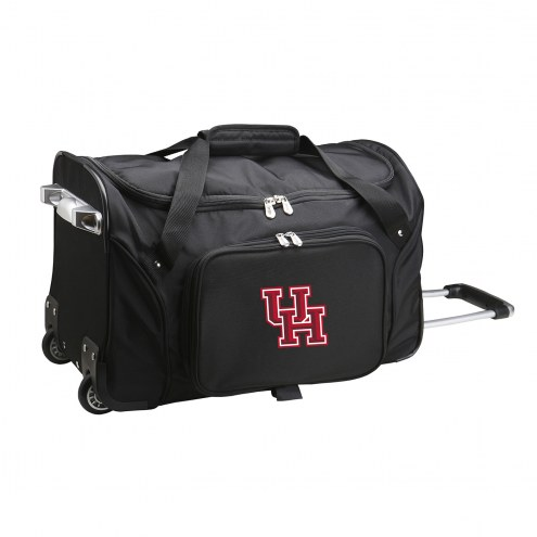 "Houston Cougars 22"" Rolling Duffle Bag"