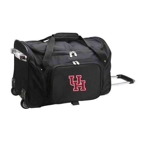 "Houston Cougars 22"" Rolling Duffle Bag"