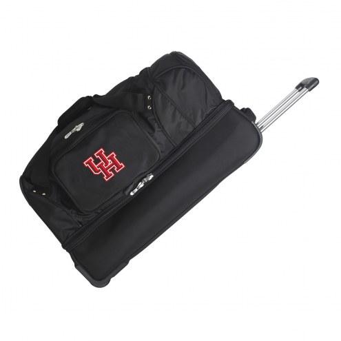 "Houston Cougars 27"" Drop Bottom Wheeled Duffle Bag"