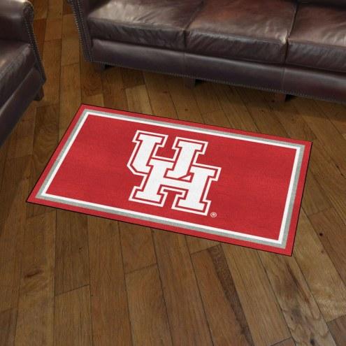 Houston Cougars 3' x 5' Area Rug
