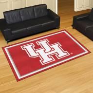 Houston Cougars 5' x 8' Area Rug
