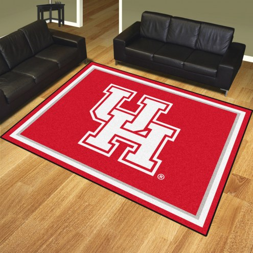 Houston Cougars 8' x 10' Area Rug