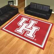Houston Cougars 8' x 10' Area Rug