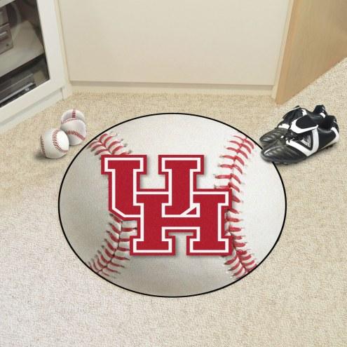 Houston Cougars Baseball Rug