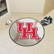 Houston Cougars Baseball Rug