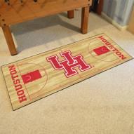 Houston Cougars Basketball Runner Rug