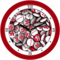 Houston Cougars Candy Wall Clock