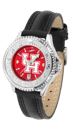 Houston Cougars Competitor AnoChrome Women's Watch