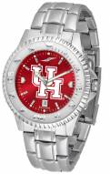 Houston Cougars Competitor Steel AnoChrome Men's Watch