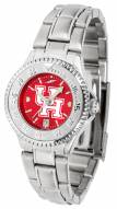 Houston Cougars Competitor Steel AnoChrome Women's Watch