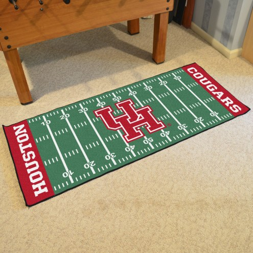 Houston Cougars Football Field Runner Rug