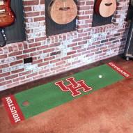 Houston Cougars Golf Putting Green Mat