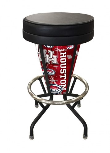 Houston Cougars Indoor Lighted Bar Stool