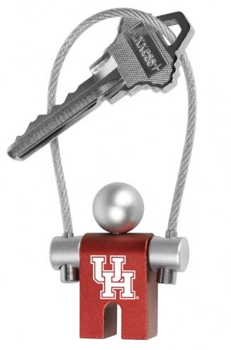 Houston Cougars Jumper Keychain