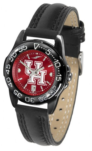 Houston Cougars Ladies Fantom Bandit AnoChrome Watch