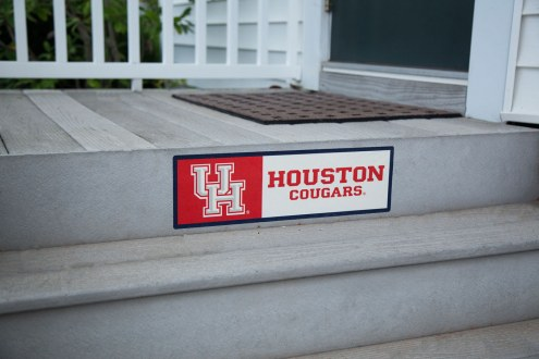 Houston Cougars Outdoor Step Graphic