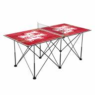 Houston Cougars Pop Up 6' Ping Pong Table