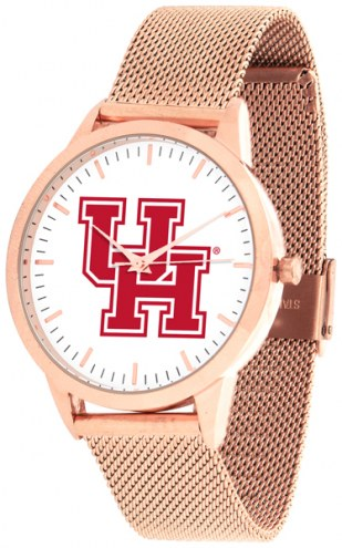 Houston Cougars Rose Mesh Statement Watch
