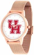 Houston Cougars Rose Mesh Statement Watch