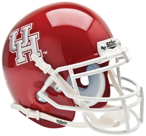Houston Cougars Schutt Mini Football Helmet