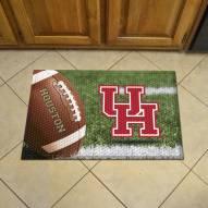 Houston Cougars Scraper Door Mat