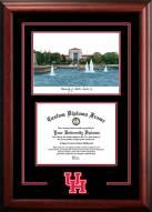 Houston Cougars Spirit Graduate Diploma Frame