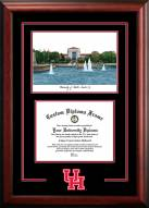 Houston Cougars Spirit Graduate Diploma Frame