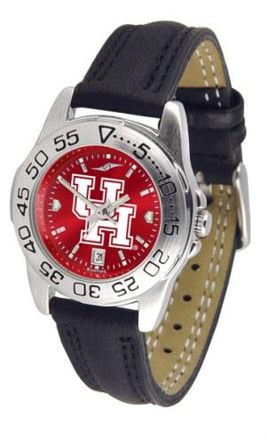 Houston Cougars Sport AnoChrome Women's Watch
