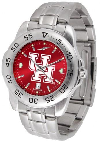 Houston Cougars Sport Steel AnoChrome Men's Watch
