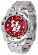 Houston Cougars Sport Steel AnoChrome Men's Watch
