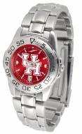 Houston Cougars Sport Steel AnoChrome Women's Watch