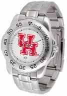 Houston Cougars Sport Steel Men's Watch