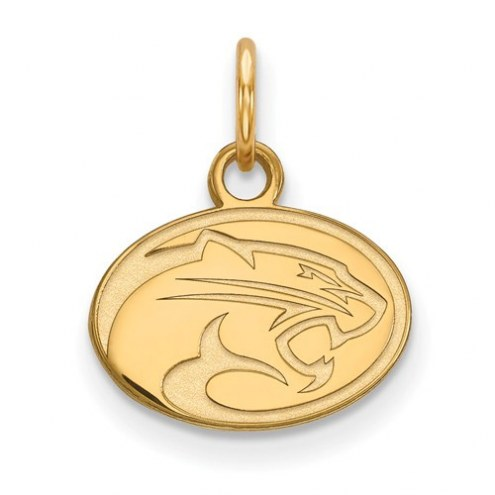 Houston Cougars Sterling Silver Gold Plated Extra Small Pendant