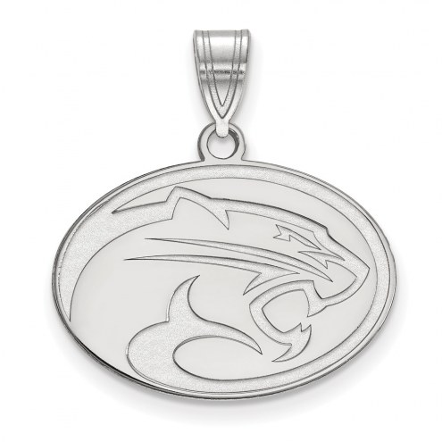 Houston Cougars Sterling Silver Medium Pendant