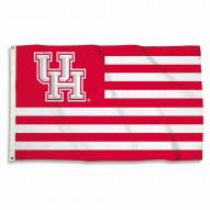 Houston Cougars Stripes 3' x 5' Flag
