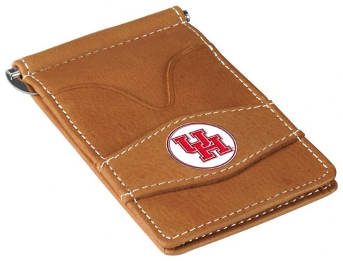 Houston Cougars Tan Player's Wallet