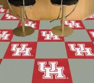 Houston Cougars Team Carpet Tiles