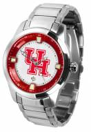 Houston Cougars Titan Steel Men's Watch