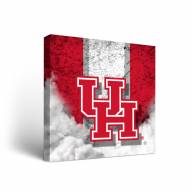 Houston Cougars Vintage Canvas Wall Art