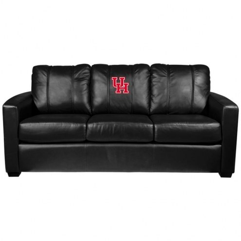 Houston Cougars XZipit Silver Sofa