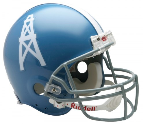 Houston Oilers 60-62 Riddell VSR4 Authentic Full Size Football Helmet