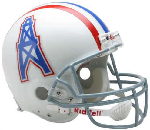 Houston Oilers 75-80 Riddell VSR4 Authentic Full Size Football Helmet