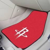 Houston Rockets 2-Piece Carpet Car Mats
