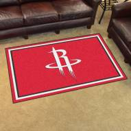 Houston Rockets 4' x 6' Area Rug