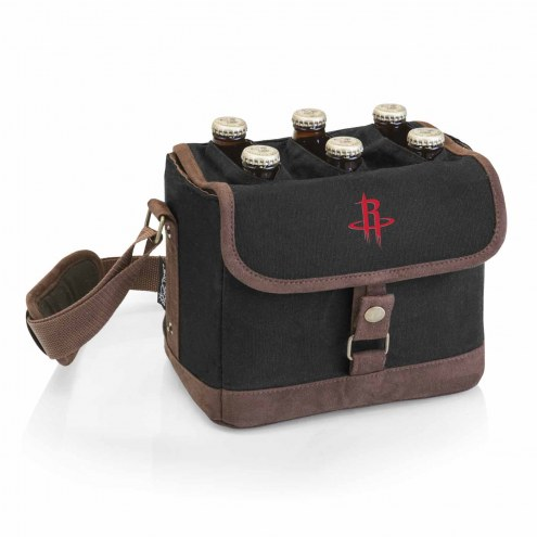 Houston Rockets Beer Caddy Cooler Tote with Opener