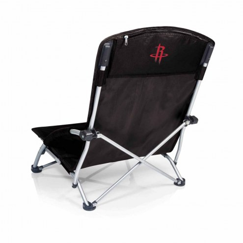 Houston Rockets Black Tranquility Beach Chair